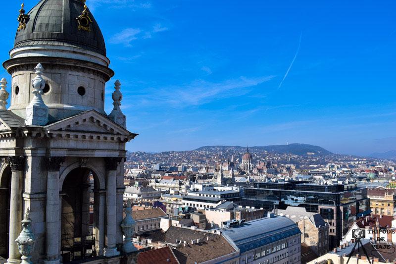 Cúpula de la Basílica de San Esteban. Entradas a las atracciones turísticas de Budapest.