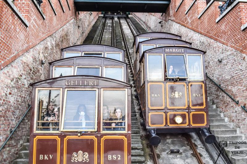 Funicular de Budapest. 40 cosas que ver y hacer en Budapest.