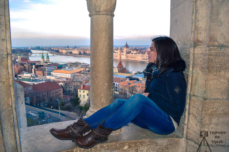 Vistas desde el Bastión de los Pescadores, una de las mejores fotos de Budapest.