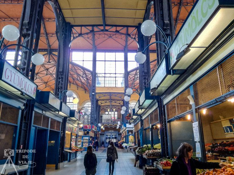 Mercado Central. Entradas a las atracciones turísticas de Budapest.