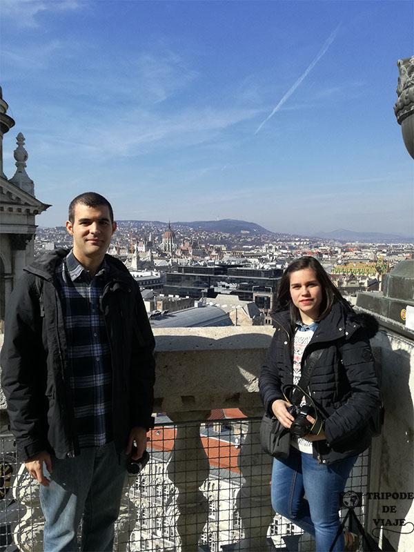 Vistas desde la Cúpula de la Basílica de San Esteban. Otra de las mejores fotos de Budapest.