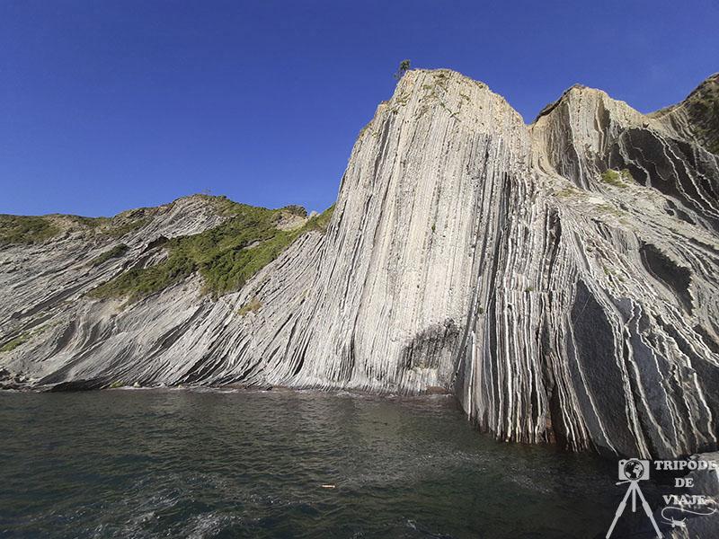 Playa de Zumaia con las formaciones Flysch. Los 10 imprescindibles que ver en País Vasco.