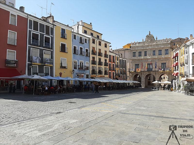 Plaza Mayor de Cuenca. Uno de los 10 imprescindibles que ver en Cuenca.