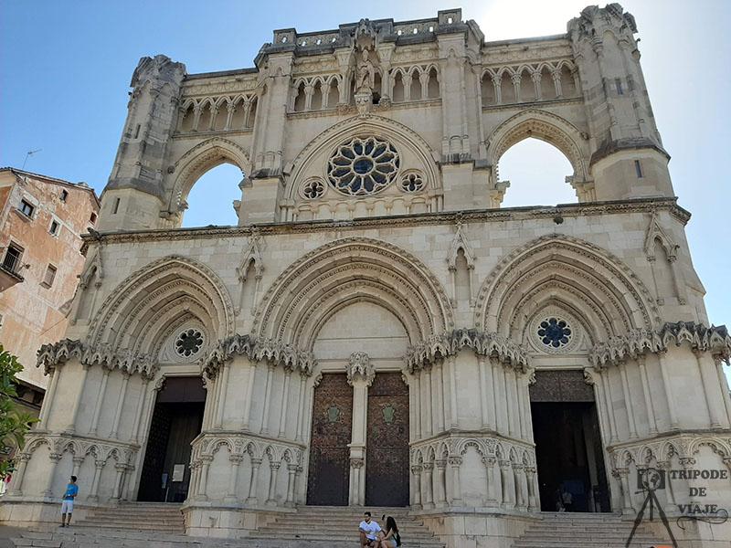 Fachada de la Catedral de Cuenca. Uno de los 10 imprescindibles de Cuenca.