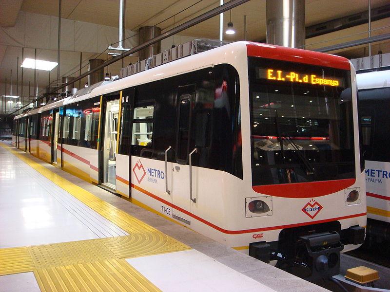 Metro de Mallorca.