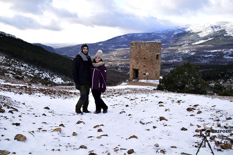 Torre de la Mina cerca de Bustarviejo, uno de los pueblos bonitos de Madrid.