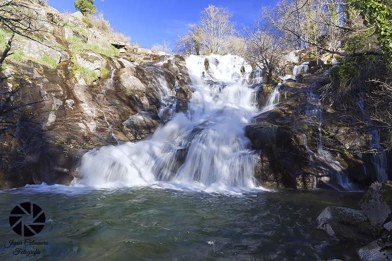 Cascada del Calderón, una de las cascadas del norte de Extremadura