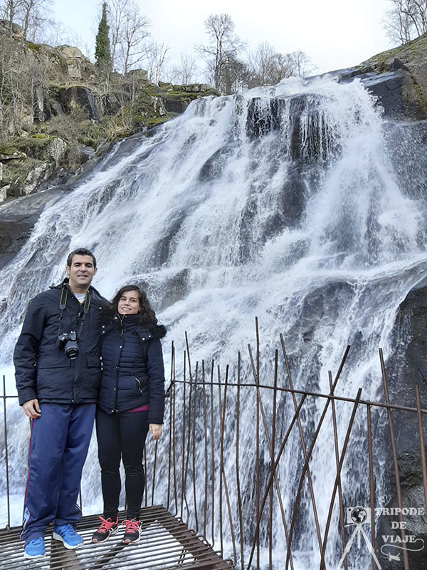 Cascada del Caozo, una de las cascadas del norte de Extremadura