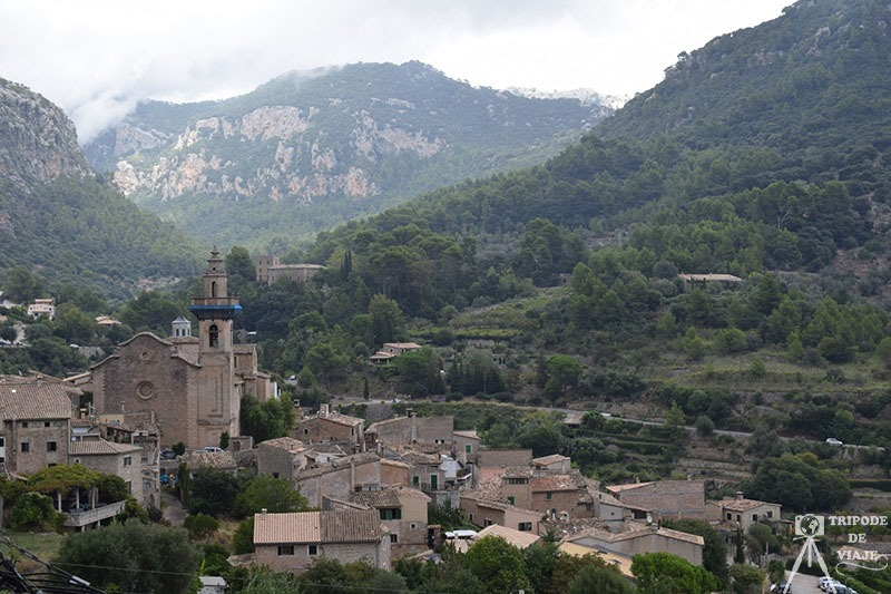 Casco Antiguo de Valldemossa, en el día 3 de nuestro viaje a Mallorca.