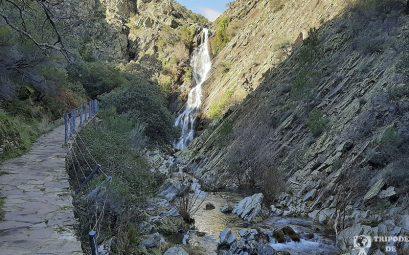 Chorrituero de Ovejuela, una de las cascadas del norte de Extremadura
