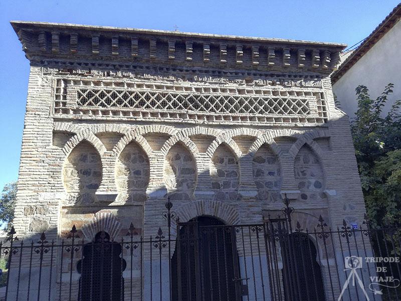 Exterior de la antigua Mezquita del Cristo de la Luz.