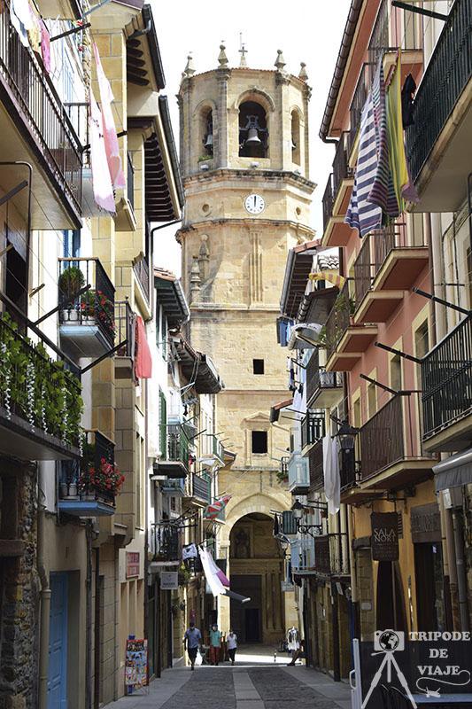 Casco antiguo de Guetaria. Los pueblos más bonitos de País Vasco.