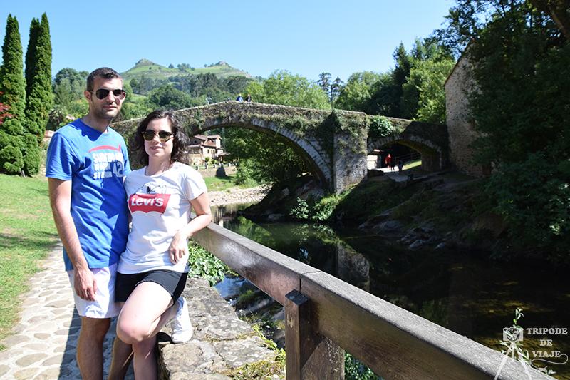 Puente Mayor de Liérganes. Uno de los pueblos más bonitos de Cantabria.