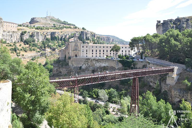 Vistas del Puente de San Pablo desde las Casas Colgadas.
