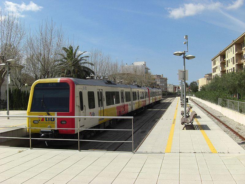 Tren Mallorca.