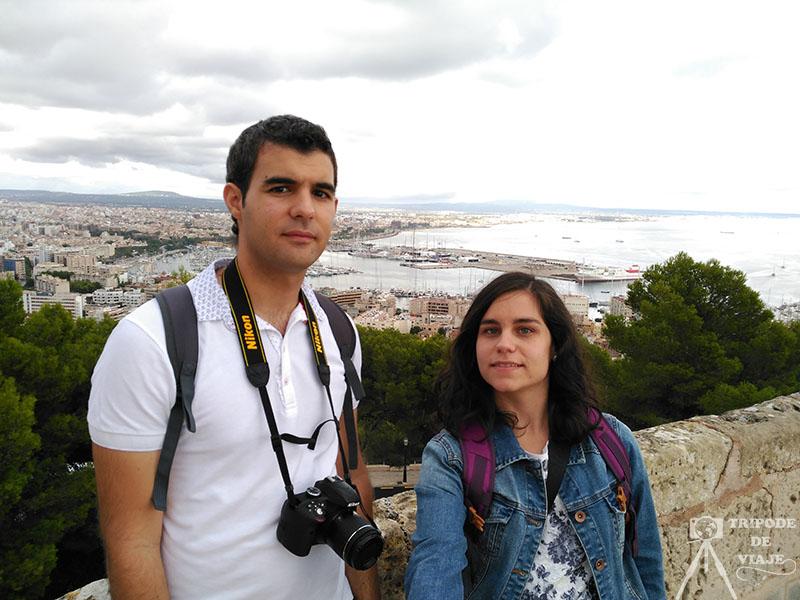 Vistas de Palma de Mallorca.