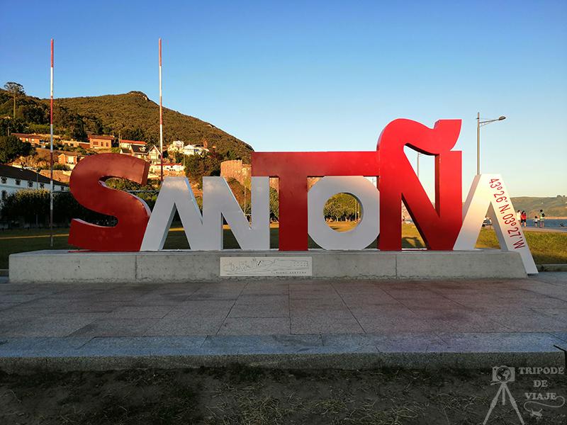 Letras de Santoña. Uno de los pueblos más bonitos de Cantabria.