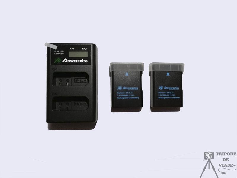 Batería extra para Cámara Nikon.