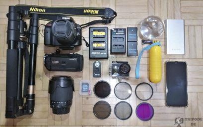 Nuestro equipo fotográfico.