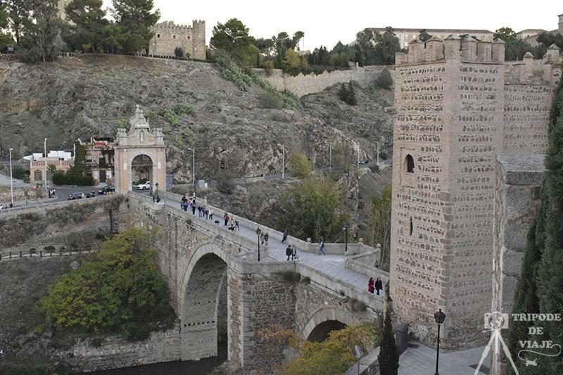 Puente de Alcántara en Toledo