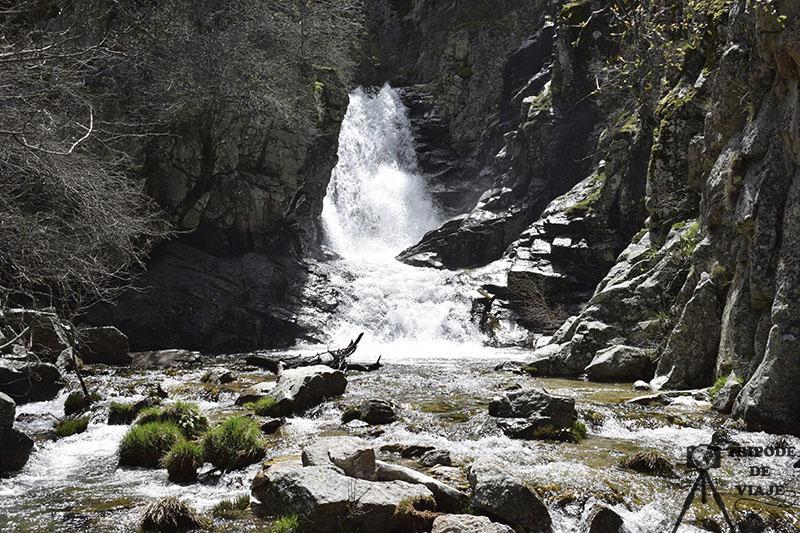 Cascada del Purgatorio en Rascafría