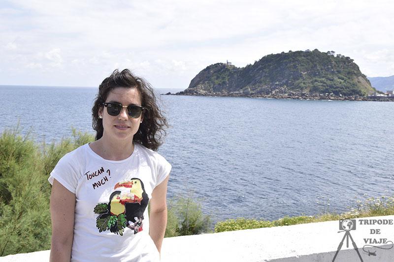 Vistas del ratón de Guetaria. Los pueblos más bonitos de País Vasco.