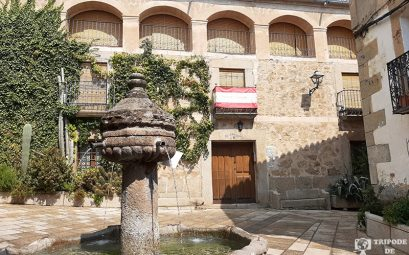 Plaza Cuacos de Yuste. Ruta de 4 días por la Vera