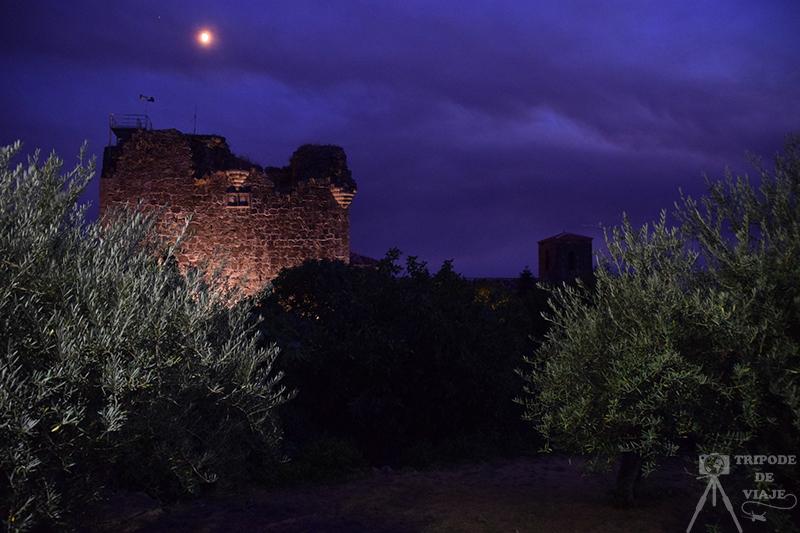 Castillo de los Condes Nieves en Valverde de la Vera, día 2 en la Vera