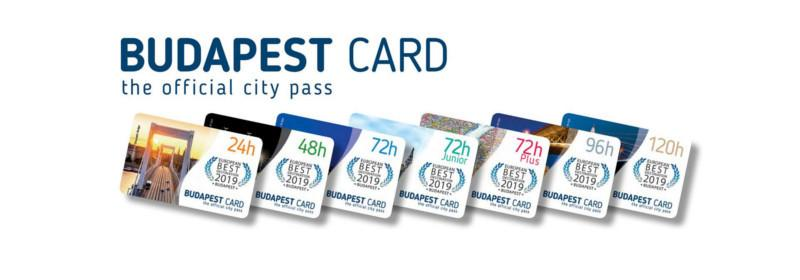 Distintas opciones de la Budapest Card para conseguir entradas a las atracciones turísticas de Budapest.