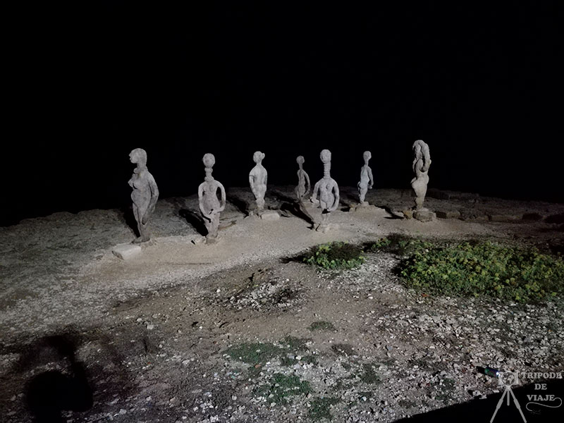 Esculturas de Joan Bennàssar, paseo marítimo.