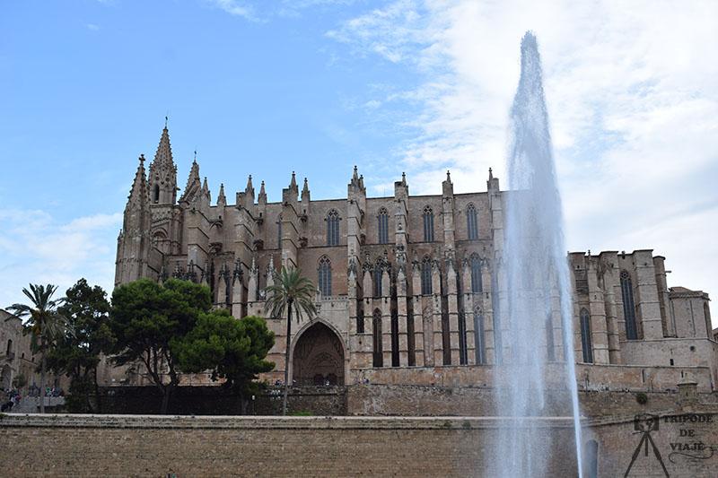Catedral de Palma. Uno de los 10 imprescindibles que ver en Palma.