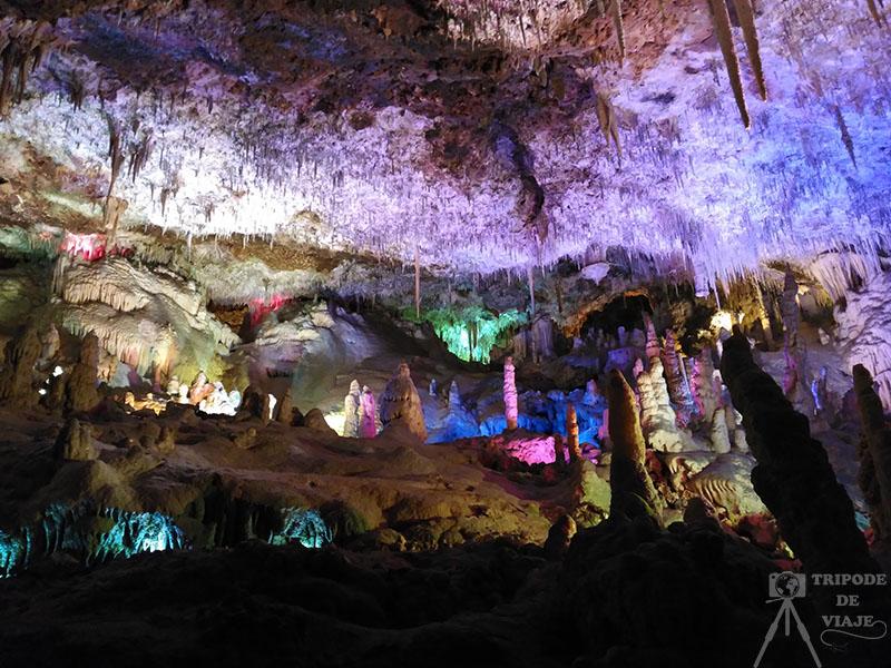 Cuevas dels Hams. Uno de los sitios imprescindibles para visitar en Mallorca.