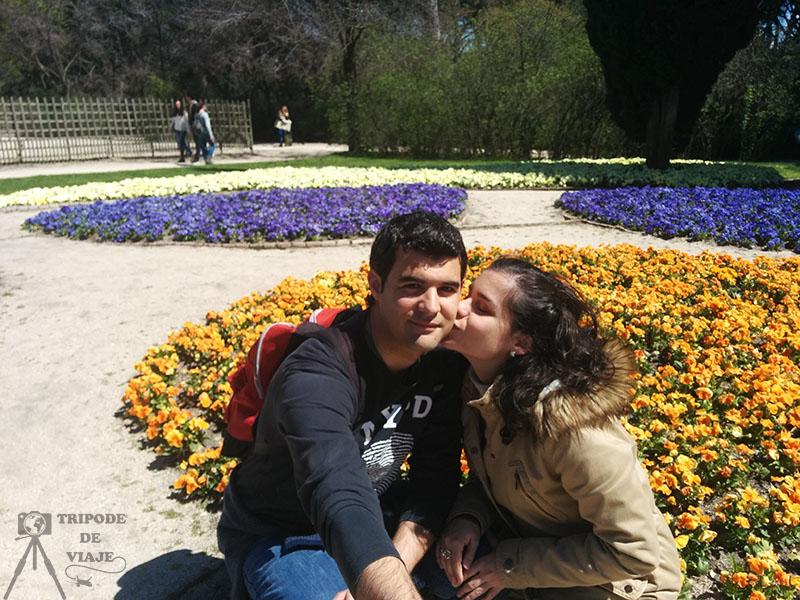 Parque de El Capricho, uno de los más bonitos de Madrid.