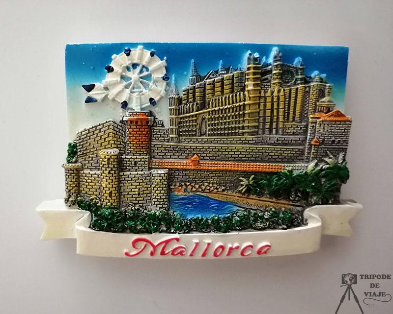 Imán de Mallorca. Consejos para viajar a Mallorca.