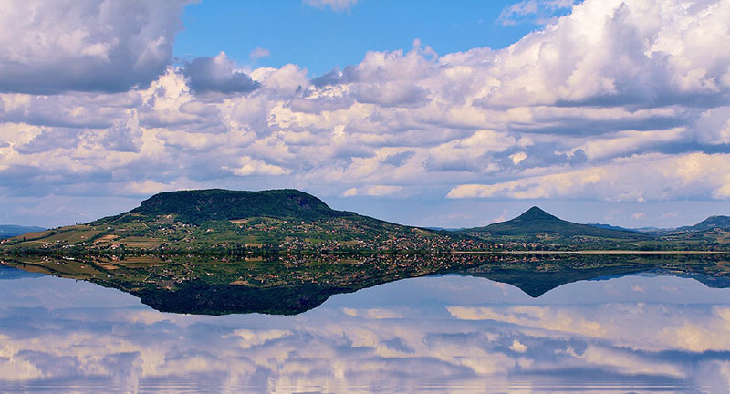 Reflejo en Lago Balatón
