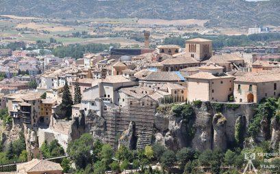 Vistas de la ciudad de Cuenca.