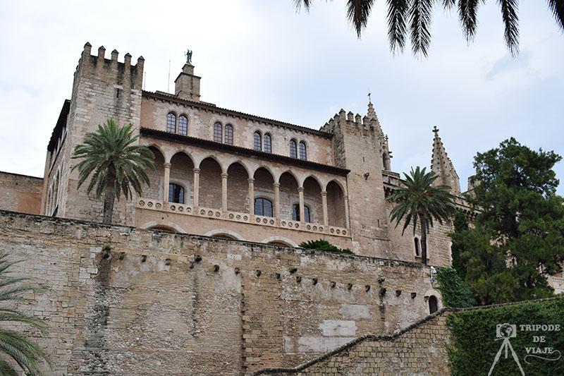 Palacio real de la Almudaina, día 1 en Mallorca.